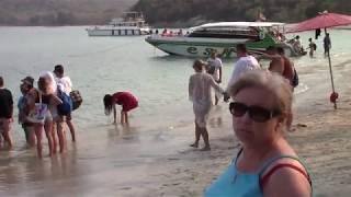 Паттайя морская прогулка на остров Бамбу Ко Пай 2020 г