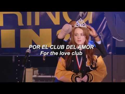 Mean Girls; The Love Club - Lorde (español/english lyrics)