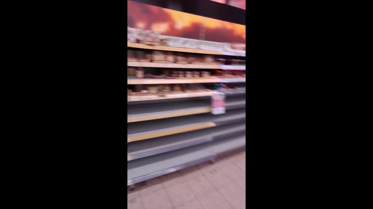 Hamsterkauf Eskaliert