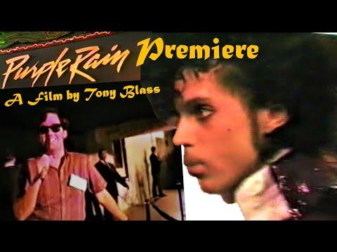 Prince Purple Rain Premiere a film by Tony Blass