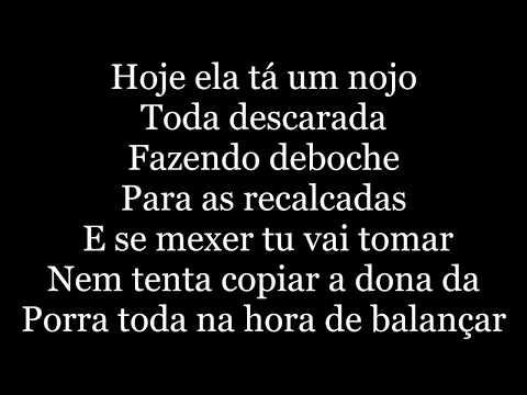 Dynho Alves - Malemolência letra