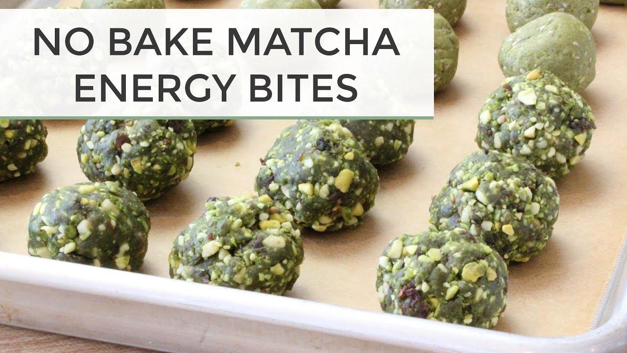 maxresdefault - No Bake Matcha Energy Bites | 2 Delicious Ways