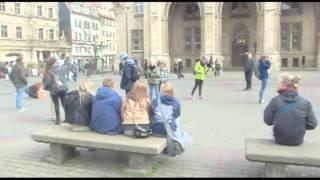 Ollerup Efterskole freezemob, Erfurt Centrum
