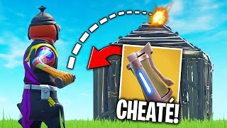 THE TECHNIQUE CHEATED TO MAKE KILLS IN THE GRENADE! 🔥 THE BEST OF FORTNITE #202