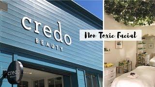 TATA HARPER FACIAL AT CREDO BEAUTY ✨ NON TOXIC SKIN CARE & BEAUTY