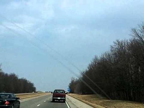March 10, 2011: Driving North Through Indiana and into Michigan