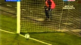 КУЕФА 2004/2005. Днепр Днепропетровск - Брюгге 3-2 (21.10.2004)
