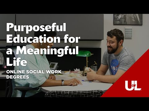 Purposeful Education for a Meaningful Life: Social Work Degrees Online from Kent School