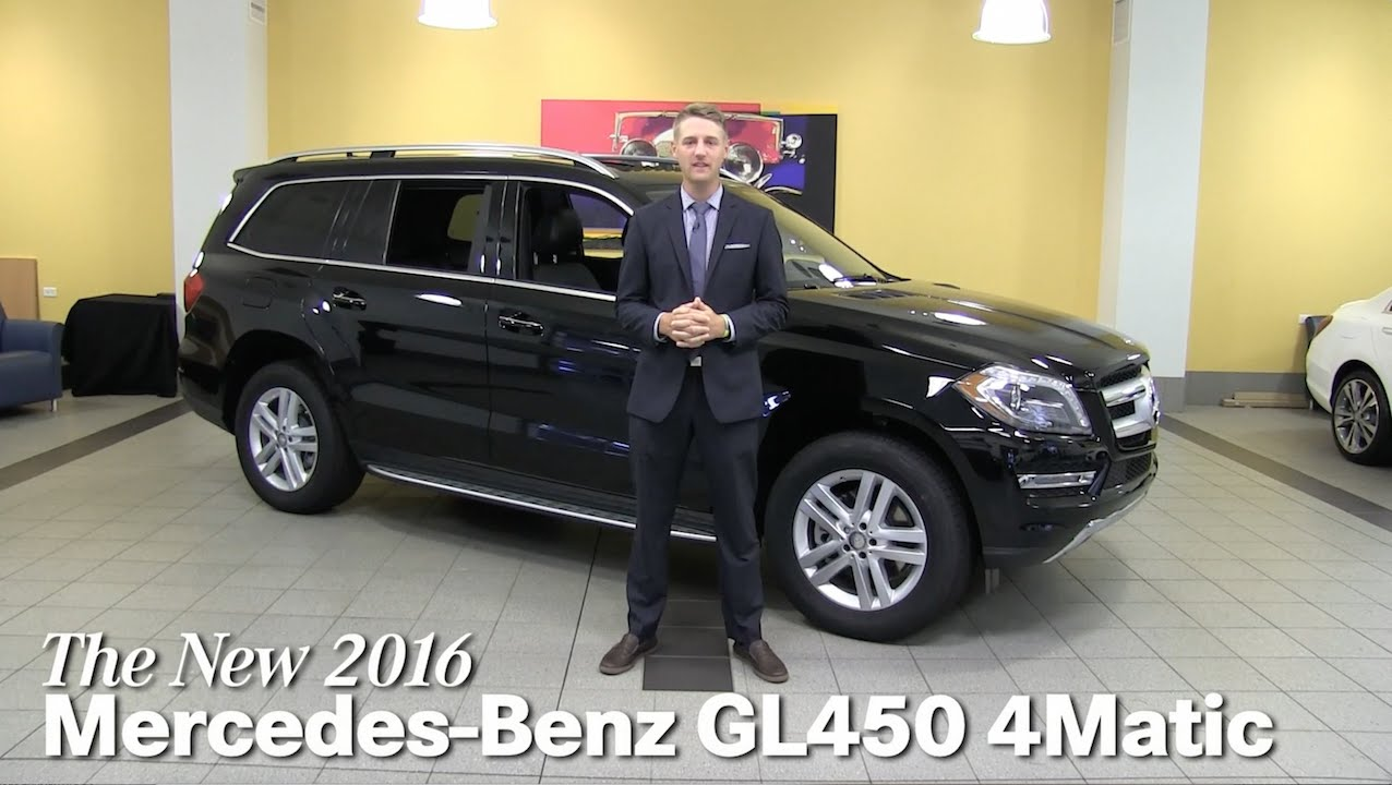review new 2016 mercedes benz gl450 gl class minneapolis. Black Bedroom Furniture Sets. Home Design Ideas