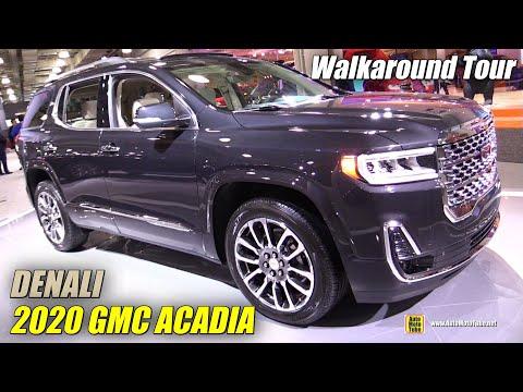2020 GMC Acadia Denali - Exterior and Interior Walkaround - Debut at 2019 NY Auto Show