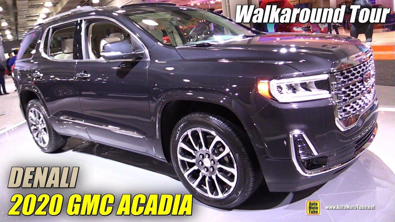 2020 GMC Acadia Interior, Price & Release Date >> 2020 Gmc Acadia Denali Exterior And Interior Walkaround Debut At 2019 Ny Auto Show