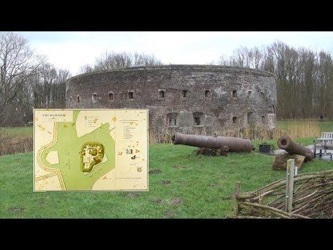 Fort Uitermeer & Fort Hinderdam   Nieuwe Hollandse Waterlinie & Stelling van Amsterdam (2018)