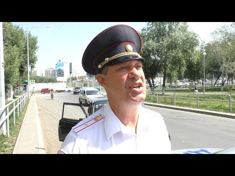 Командир разрешил гаишникам клеить 10 рублевую монету на лоб и жезл