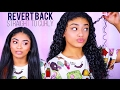 Straight to Curly - Revert Back NO HEAT DAMAGE | jasmeannnn