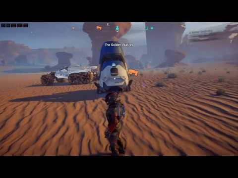 Mass Effect Andromeda Clearing Atmospherical Radiation at EOS Planet Part 1 of 4