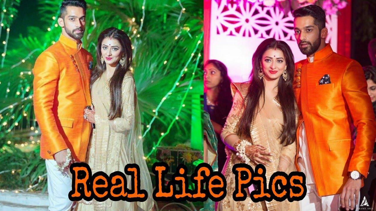 Karan Vohra Aka Shaurya Khanna real life Pics with Beautiful wife Bella ❤️