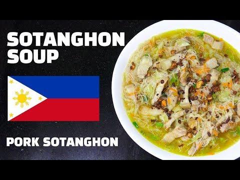 Sotanghon Soup - Pork Noodle Soup - Filipino Recipes - Tagalog