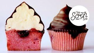 Raspberry Hi Hat Cupcakes - The Scran Line