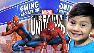 Spiderman Unlimited Gameplay | Carrera con Spiderman Amazing | Juegos Infantiles para niños