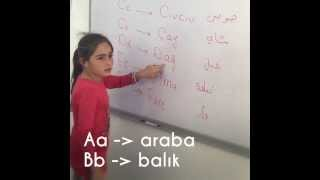 Learning Turkish in Bayt Al Amal