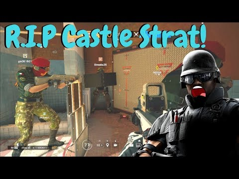 No More Castle Strat in Rainbow Six Siege