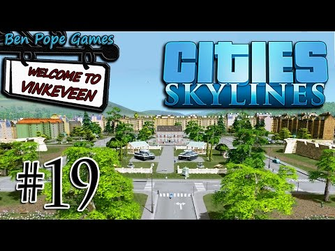 Cities: Skylines - (European Themed City) - #19 Historical District
