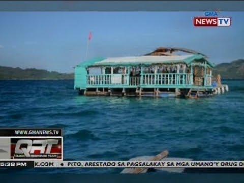 QRT: Floating balsa experience, tampok sa marine sanctuary
