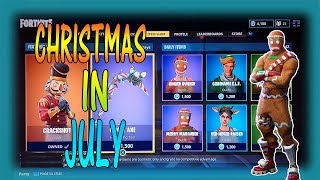 confirmed fortnite christmas in july coming soon more news on merry marauder returning - christmas in july fortnite