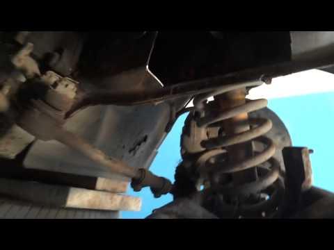 ВАЗ- 2106.  замена рем. вставок передней балки.