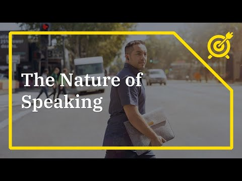 Download Nature and Purpose of Speaking |Mechanics and Process of Speaking