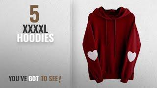 Top 10 Xxxxl Hoodies [2018]: FEITONG Womens Hoodie, Womens Long Sleeve Heart Hoodie Sweatshirt