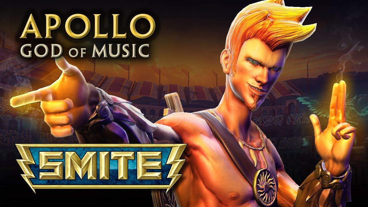 smite god reveal apollo god of music youtube