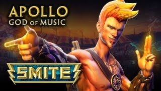 SMITE God Reveal - Apollo, God of Music(SMITE is an online battleground between gods that is free-to-play and currently in Beta. You can play today by downloading the game from: ..., 2013-03-26T23:12:43.000Z)