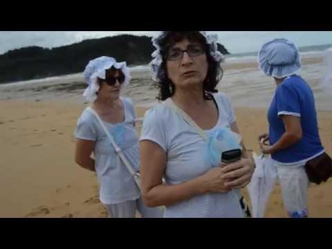 Rodiles Villaviciosa se viste de época para BAÑOS DE OLA  septiembre  2015