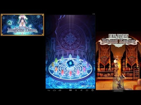 Final Fantasy Record Keeper - The Magicite Dungeons Part 1 - Full Stream