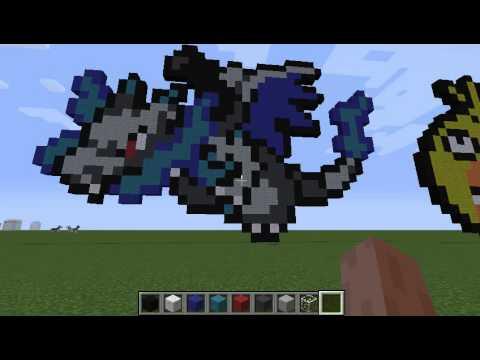 Charizard X Pixel Art