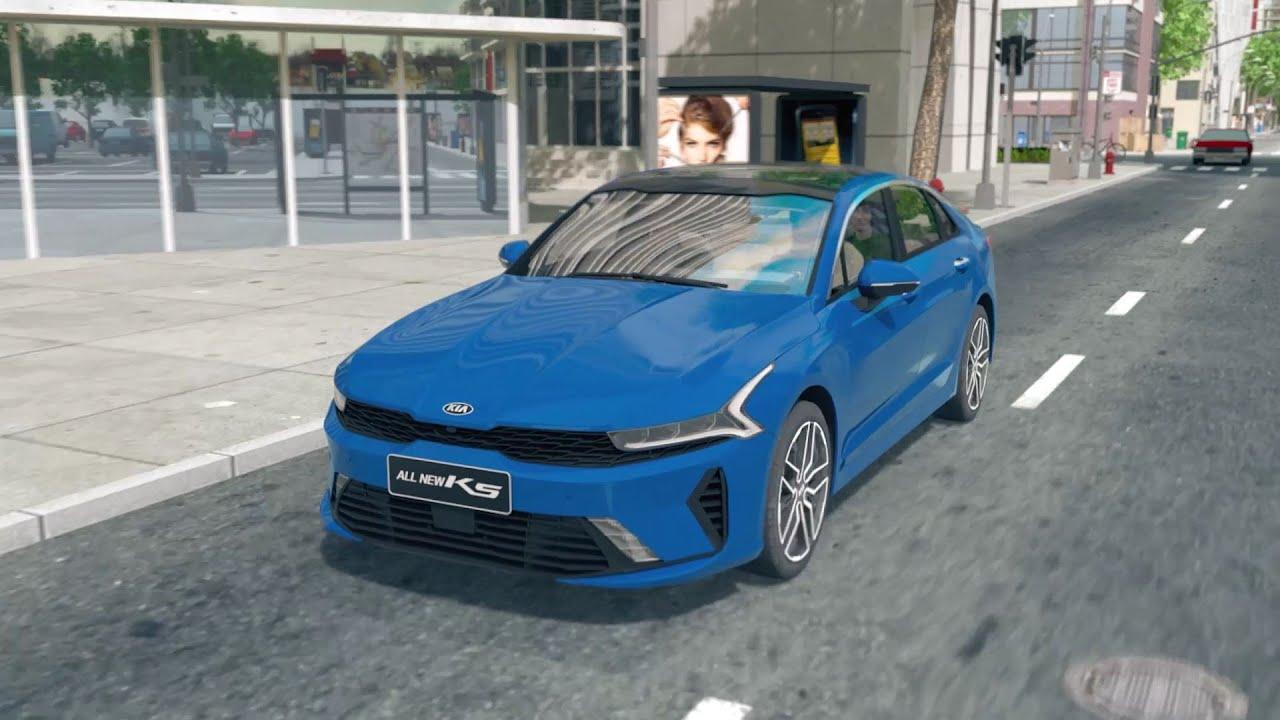 BVM NCSS FCA 기아자동차 K5 중국차량 3D시뮬레이션 영상