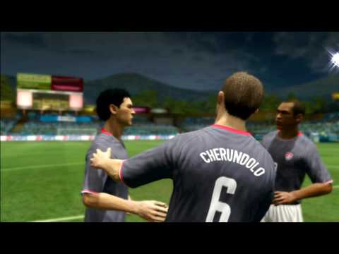 EA Sports 2010 FIFA World Cup - USA Playthrough EP 1 (Qualification)