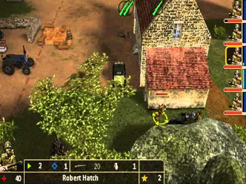 Legends of War Patton's Campaign PSP Gameplay