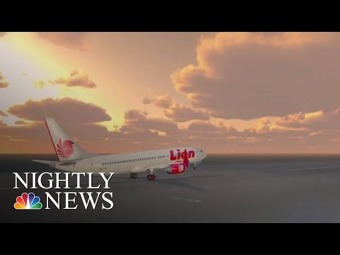 Inside The Final Frantic Moments Before The Lion Air Crash | NBC Nightly News