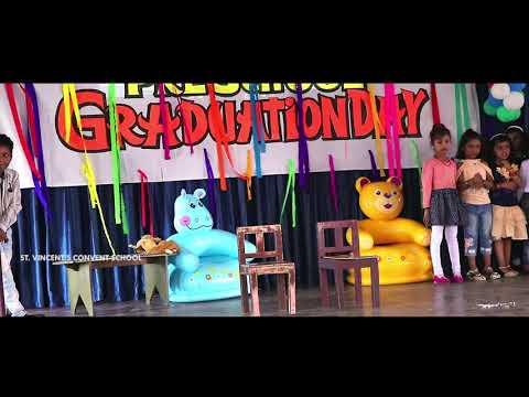 St Vincents School Keralapuram Preschool Graduation Ceremony.. UKG A Students