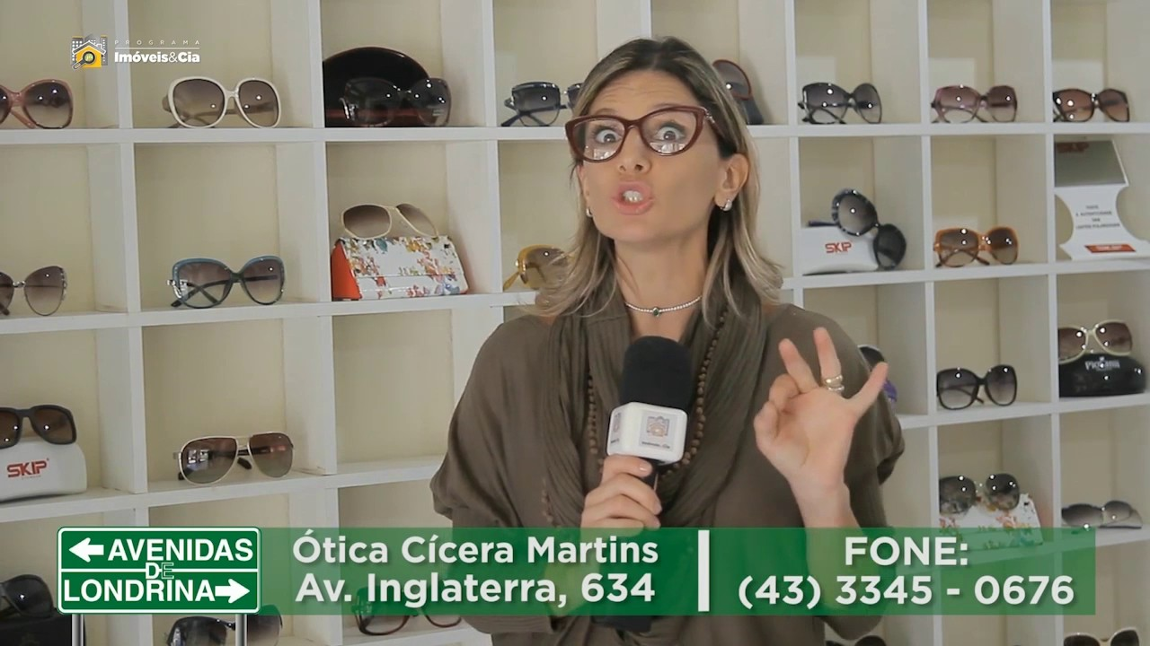 c8d6eb074077c Avenidas de Londrina - Ótica Cícera Martins (30 04 2017) - YouTube