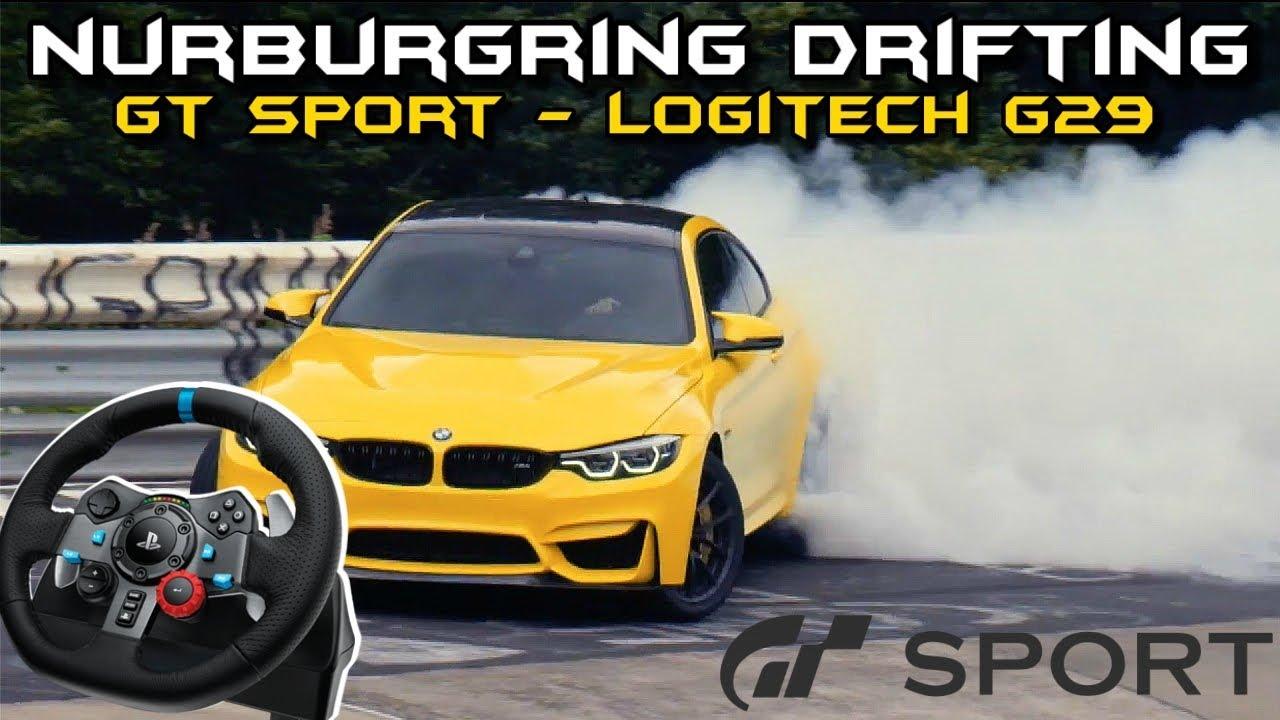 Gran Turismo Sport : Nurburgring Drifting With Logitech G29 (GT Sport)