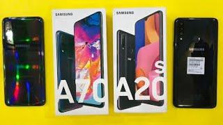 Samsung Galaxy A70 vs Samsung Galaxy A20s