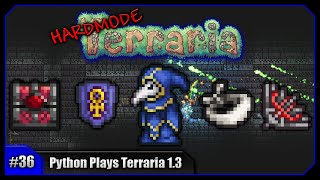 Python Plays Terraria || Painful Farming, Ankh Charm & Cultists! || Terraria 1.3 PC Let