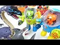 Super giant sea dinosaur appeared!! Octonauts! Octo robot suits ride and go!! - DuDuPopTOY