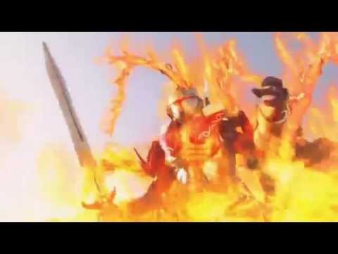 Trailer do filme Kamen Rider Gaim - The great soccer battle! Golden fruit ...