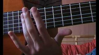 How to play the Japanese school bell tune on the guitar