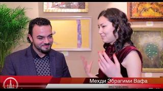 Интервью 28.01.2017 года в рамках выставки живописи Мехди  для телеканала «Моя Столица»