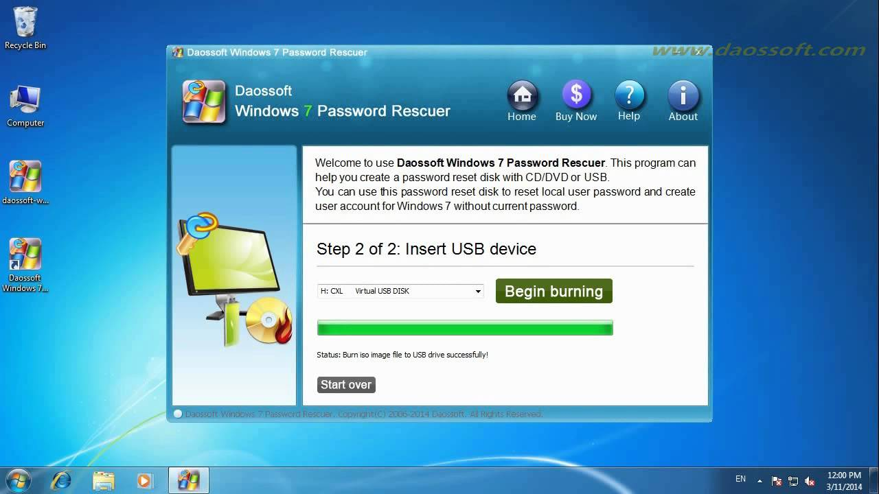 reset administrator password lenovo laptop